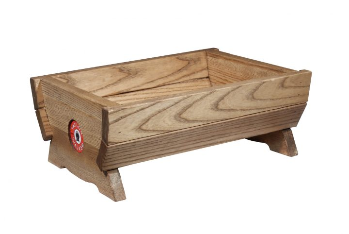 bespoke wooden caddy branded for restaurants pubs and bars