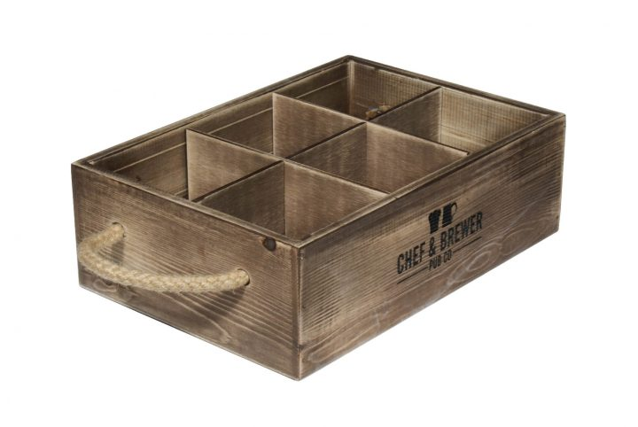 personalised wood condiment trays for restaurants pubs and bars