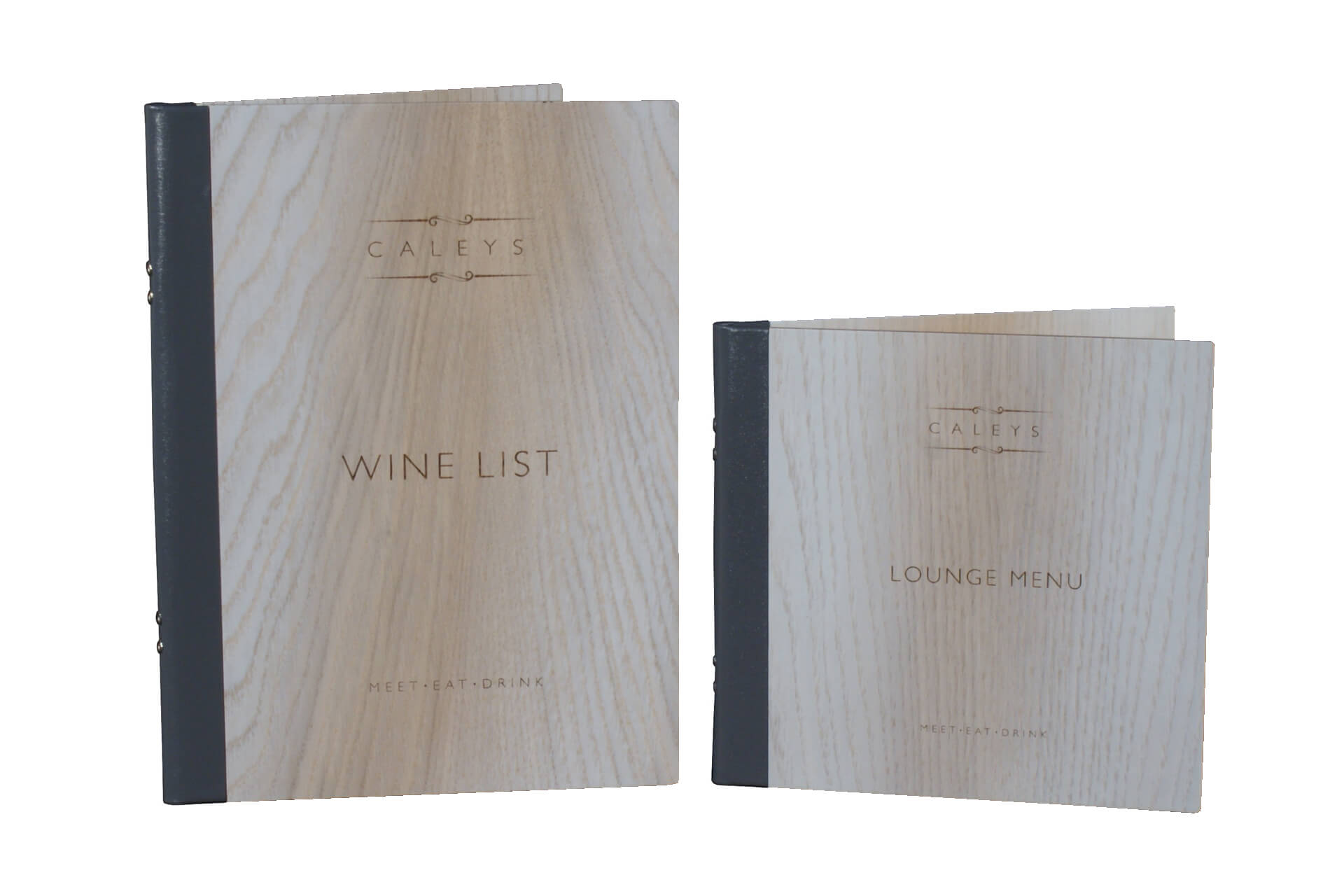a4 and square wooden menu covers h-ml101