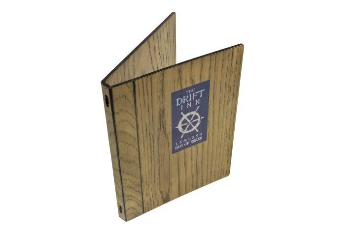 menu for a5 paper in rustic oak HM-W102