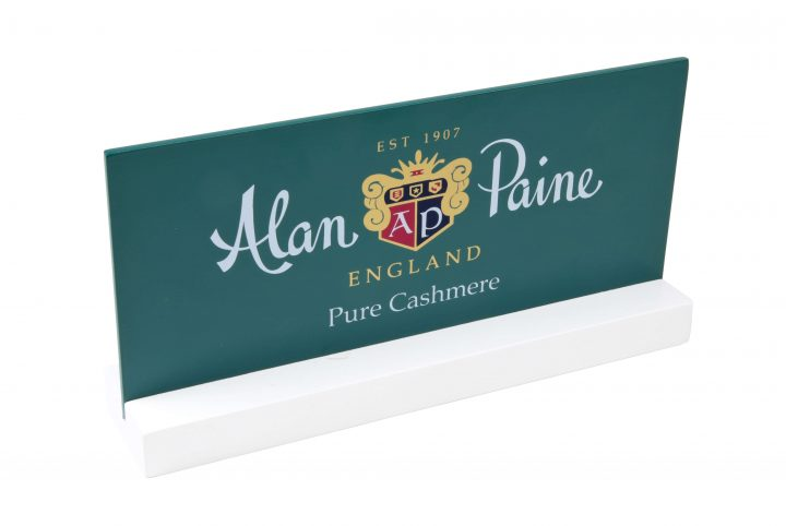 MW2416-C wooden logo sign for alan paine