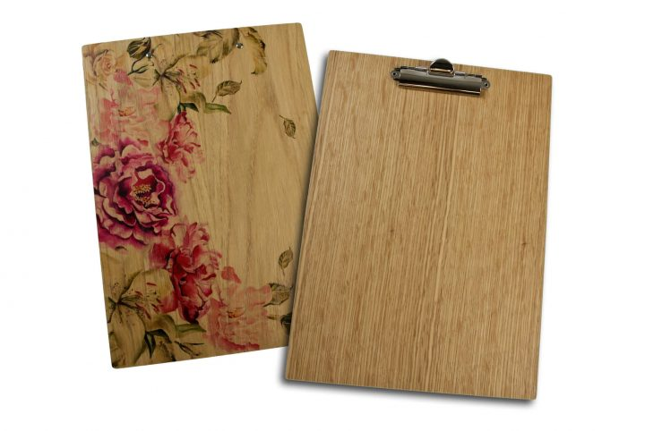 wooden custom clipboards