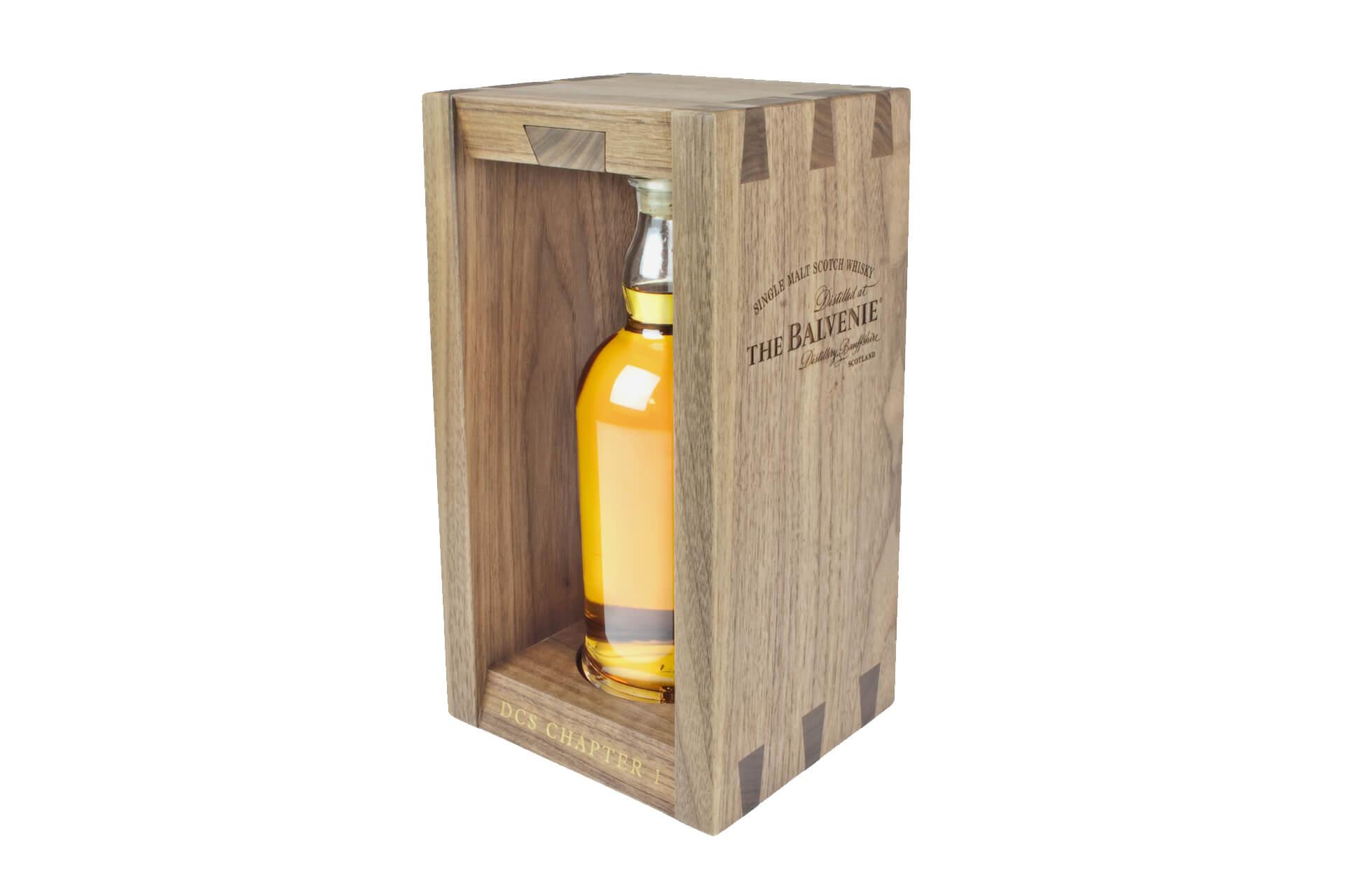 Luxury Whiskey Packaging Balvenie Dcs Wooden Box Moran S