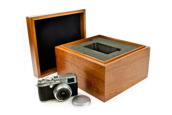 handcrafted wooden box for packaging