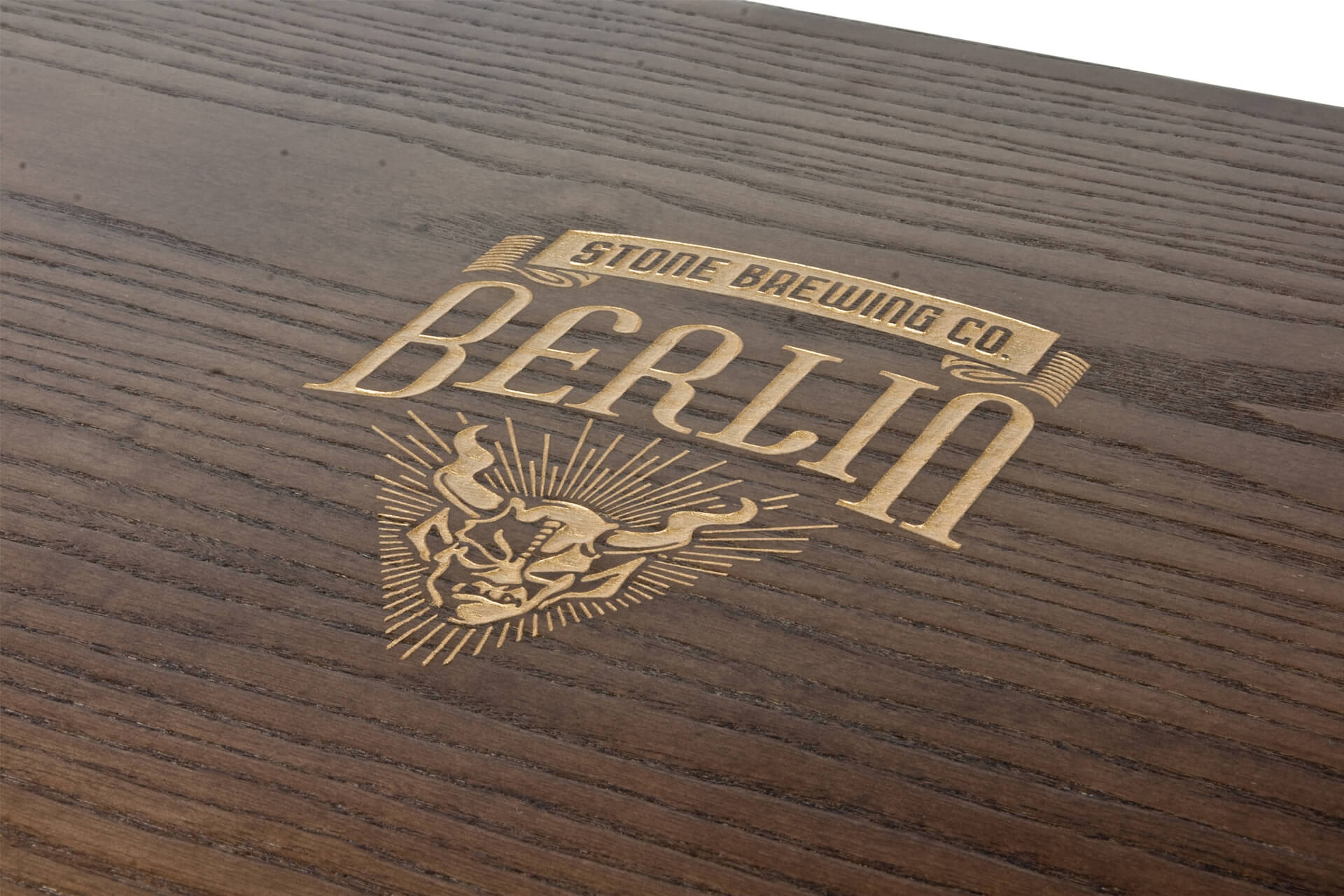 laser engraved wooden bottle box presentation case