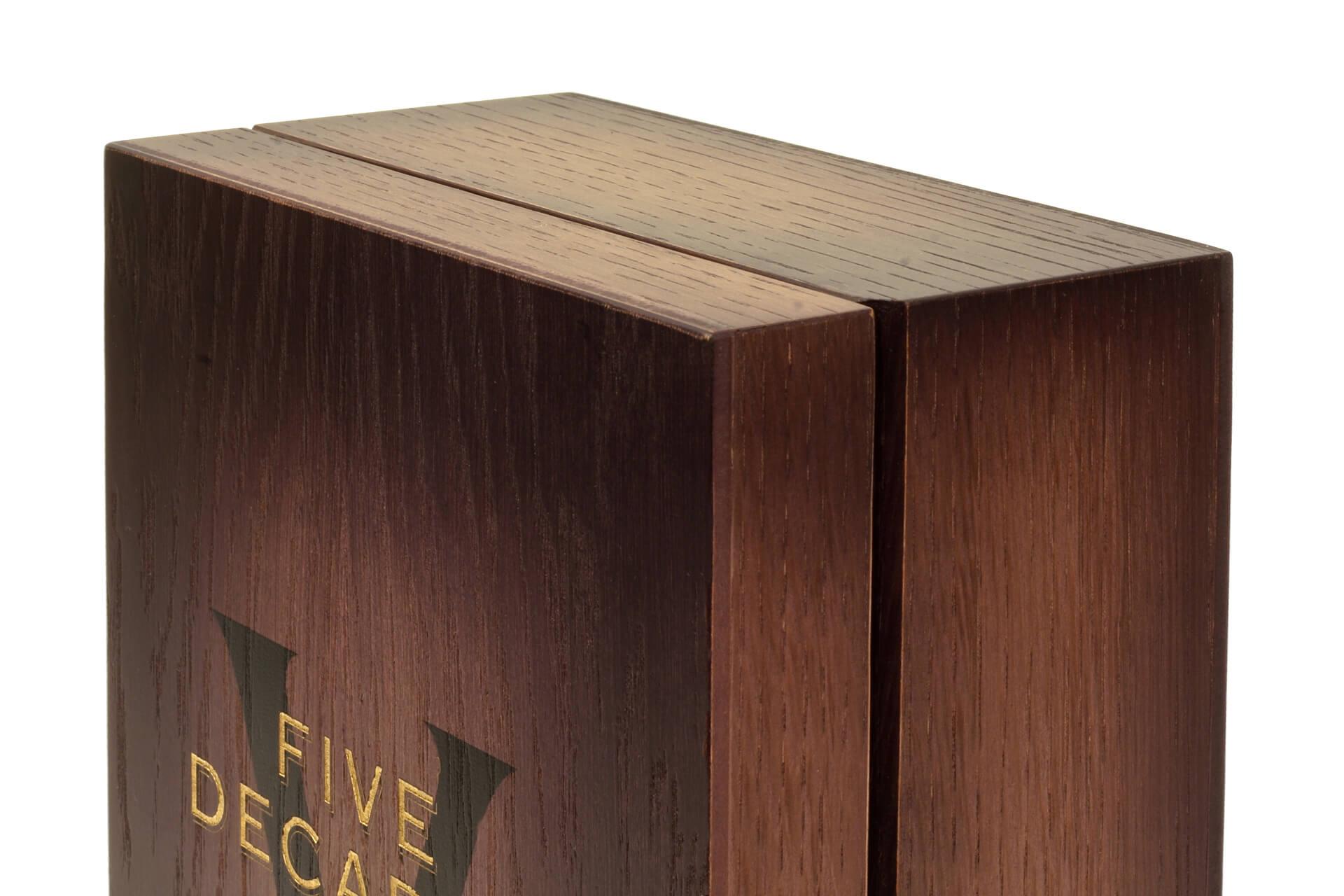 Unique Wooden Boxes For Tomintoul 5 Decades Moran S Moran S