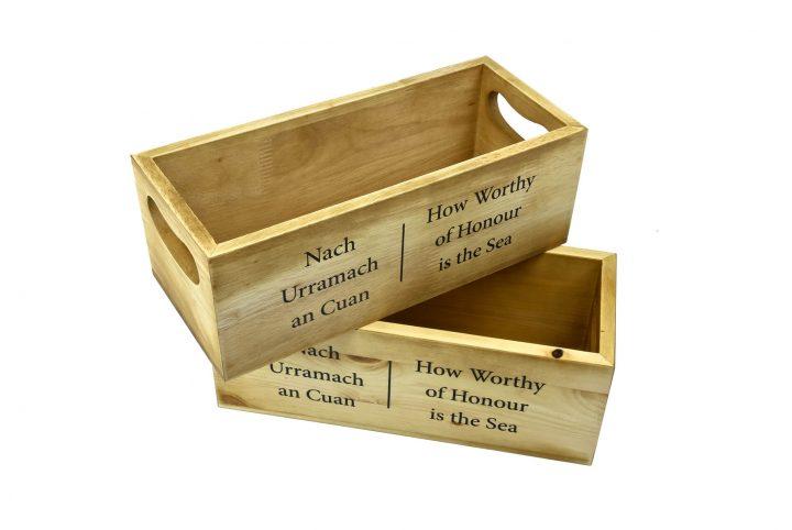 bespoke wooden bread box serving box for restaurants