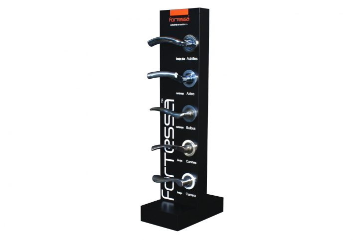 point of sale display stand for home improvement products