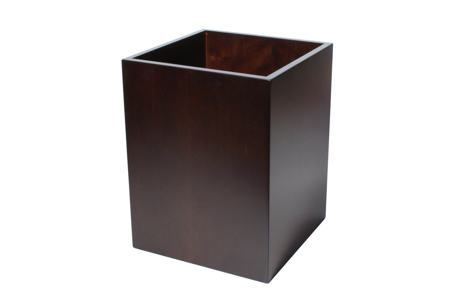 simple stylish wooden waste paper bin for hotels offices available with liners