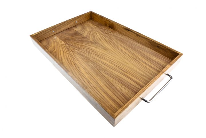 wooden compartment serving room tray for hotel and leisure