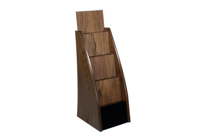 wooden leaflet display stands h-l205