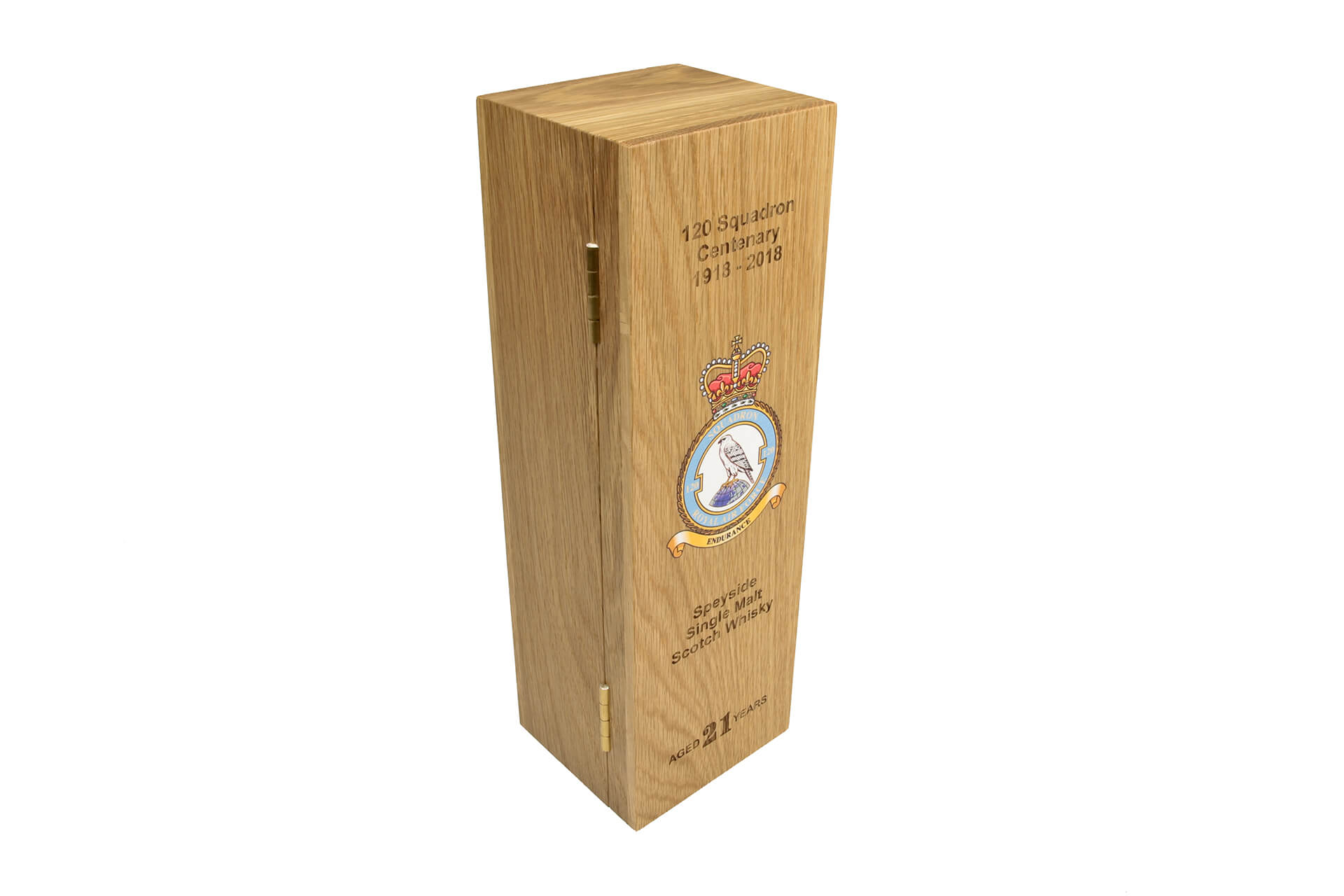 centenary whisky boxes royal airforce hinged