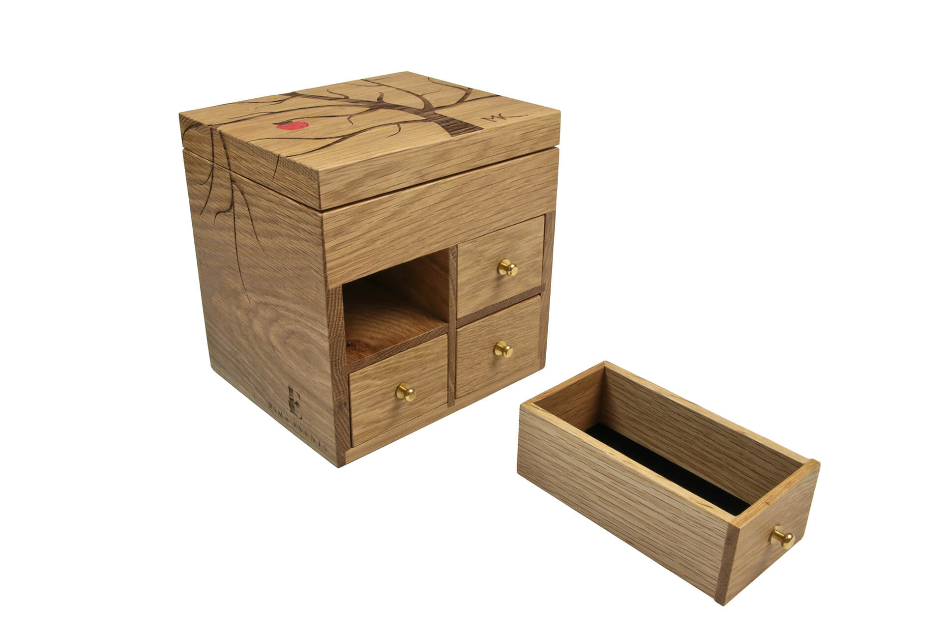 bespoke jewellry box design beautiful natural wood