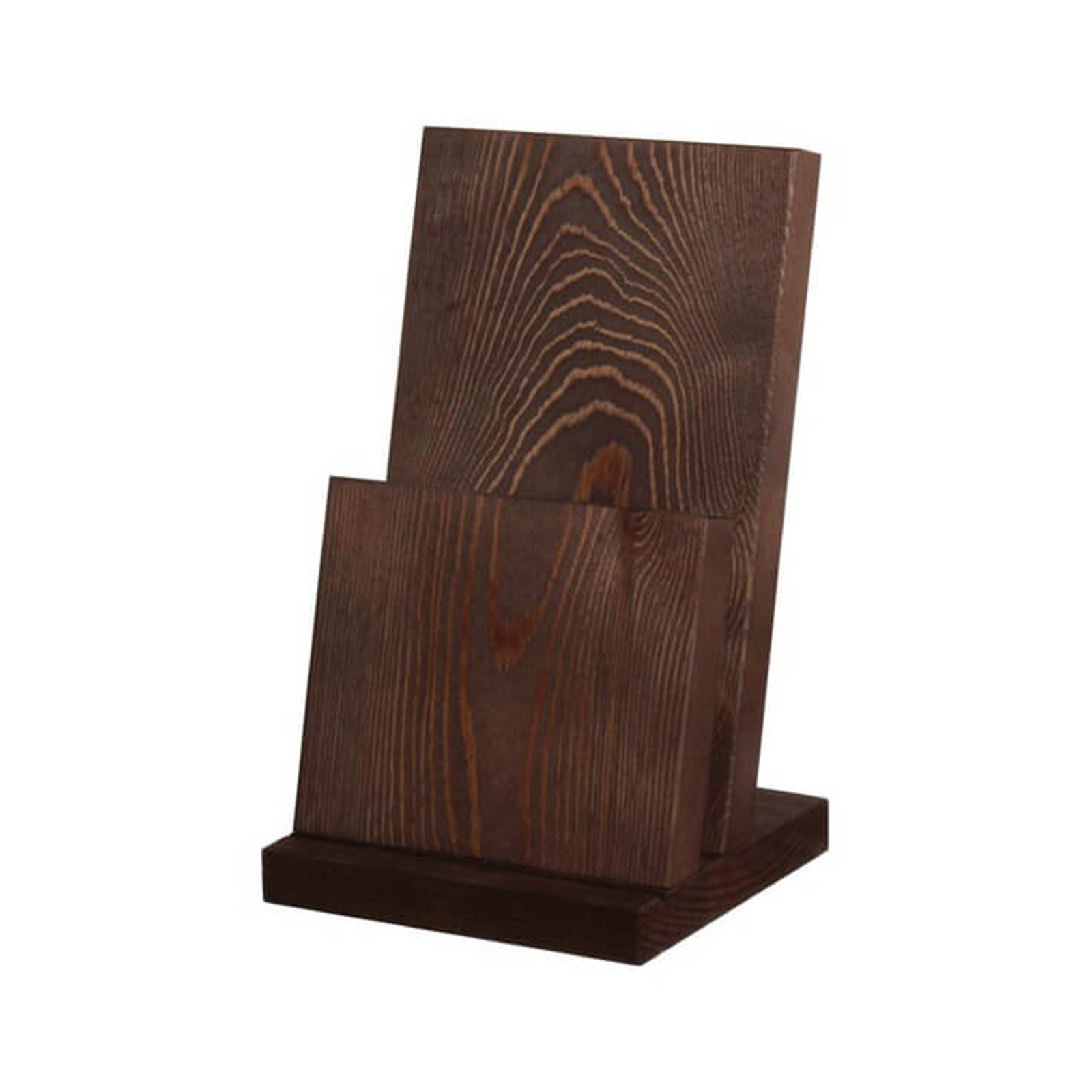 MW2418A-PINE WOODEN MENU HOLDERS
