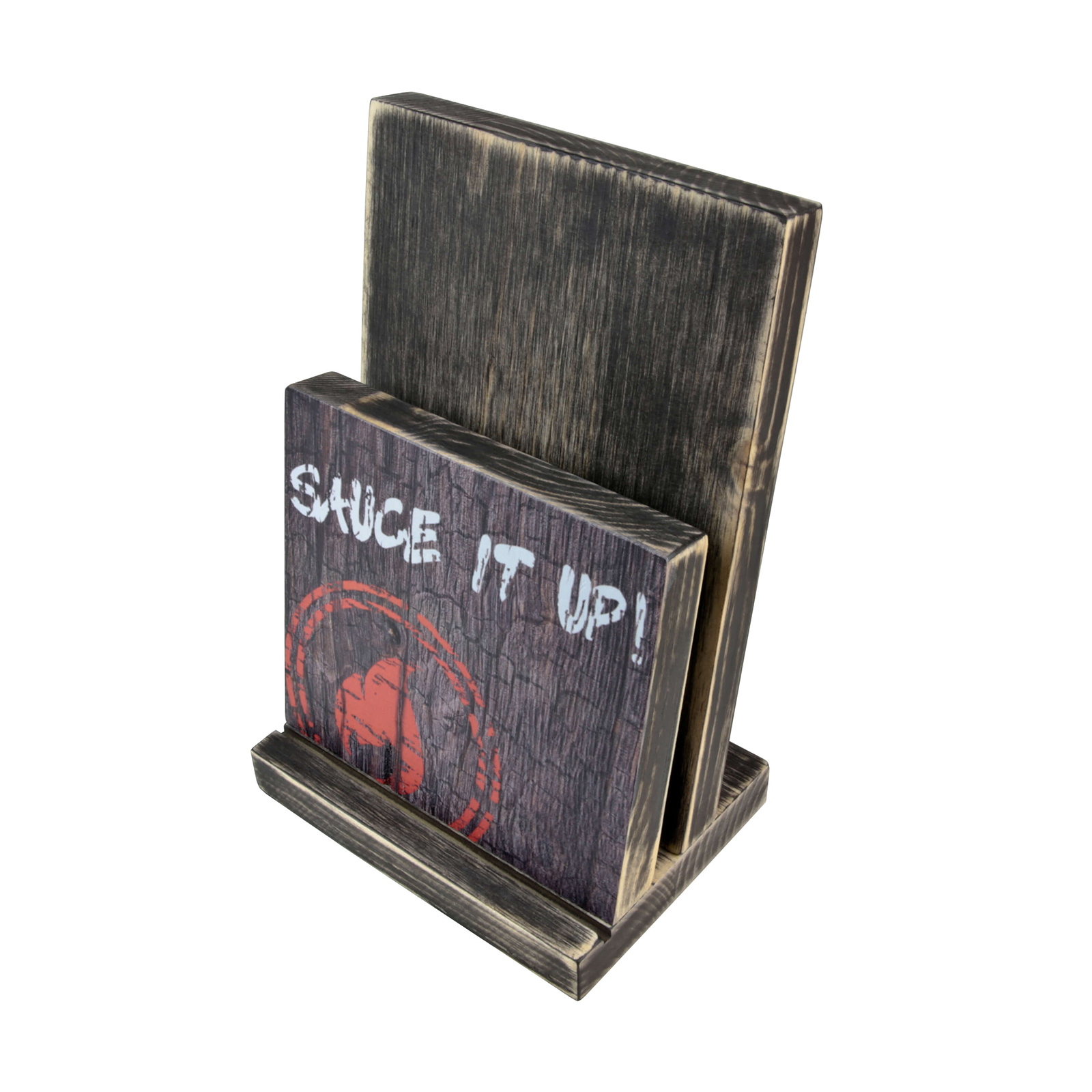 MW2418B-BESPOKE PRINTED WOODEN MENU HOLDERS