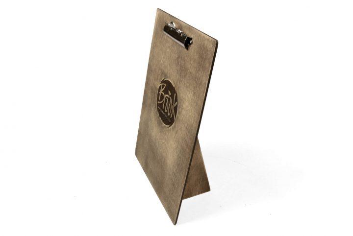 upright clipboard and tariff board